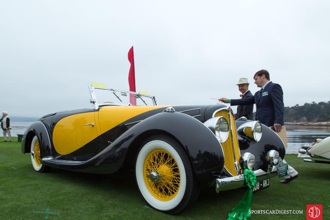1935 Delahaye 135 M Figoni Falaschi Cabriolet