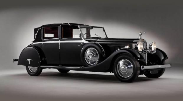 1935 Hispano-Suiza J12 Cabriolet deVille, Body by Saoutchik