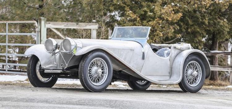 1935 Jaguar SS90 (photo: Pawel Litwinski)