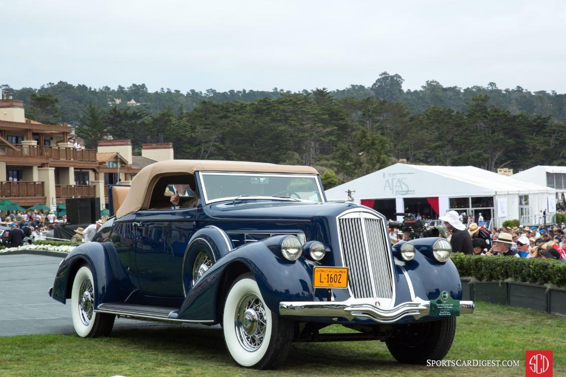 1935 Lincoln K LeBaron Convertible Roadster