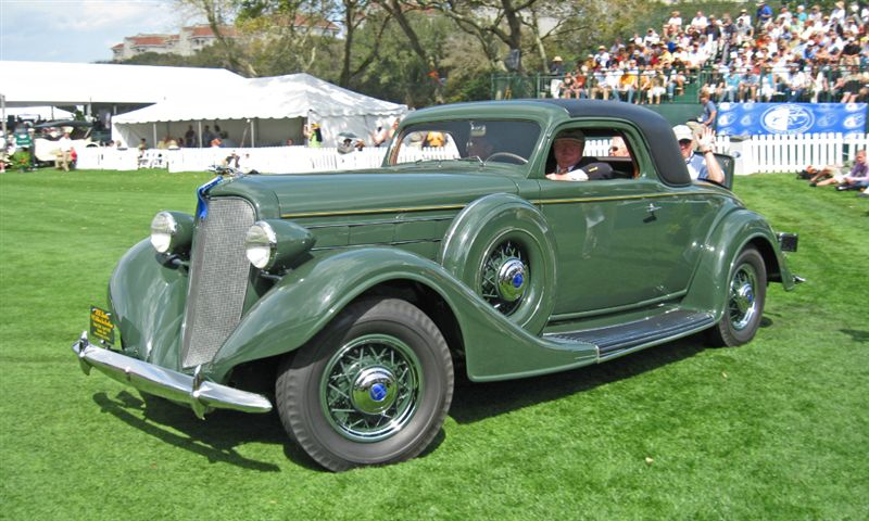 1935 Lincoln K Two-Door Coupe with Rumbleseat