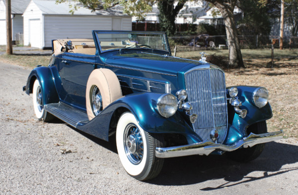 <strong>1935 Pierce-Arrow 1245 Rumble Seat Convertible Coupe – Estimate $375,000 - $425,000.</strong> Pierce-Arrow Society Senior & CCCA Premier Award winner.