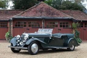 <strong>1936 Bentley 4¼-Litre Vanden Plas Style Tourer - Estimate £80,000-100,000.</strong>