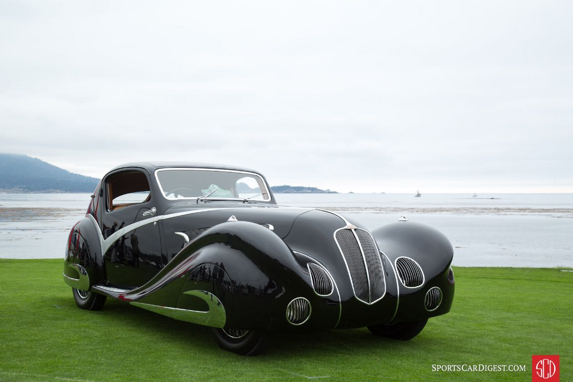 1936 Delahaye 135 Figoni Falaschi Competition Court Coupe