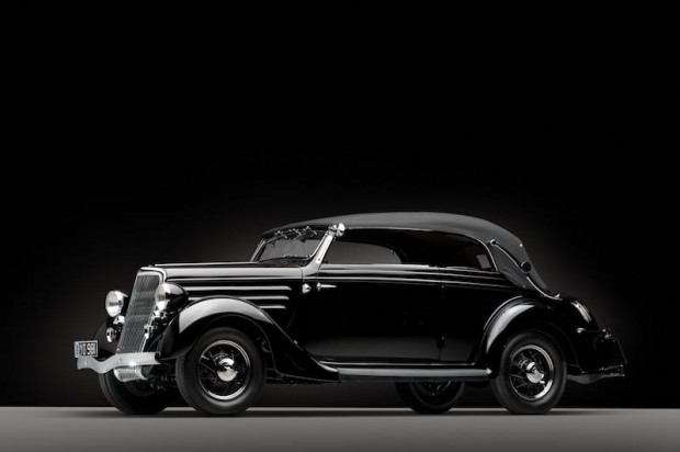 1936 Ford Custom Cabriolet by Glaser