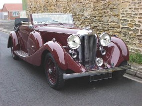 <strong>1936 Lagonda LG45 S1 Drophead Coupe - Estimate £80,000-100,000.</strong>
