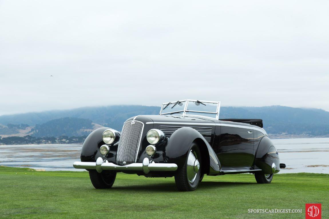 1936 Lancia Astura Pinin Farina Speciale Cabriolet