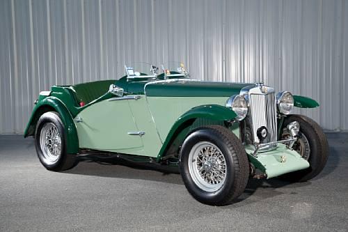 1936 MG NB race car