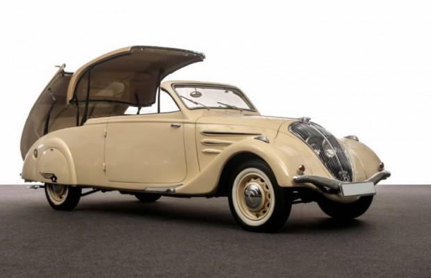 1936 Peugeot 402 Eclipse Coupe-Cabriolet