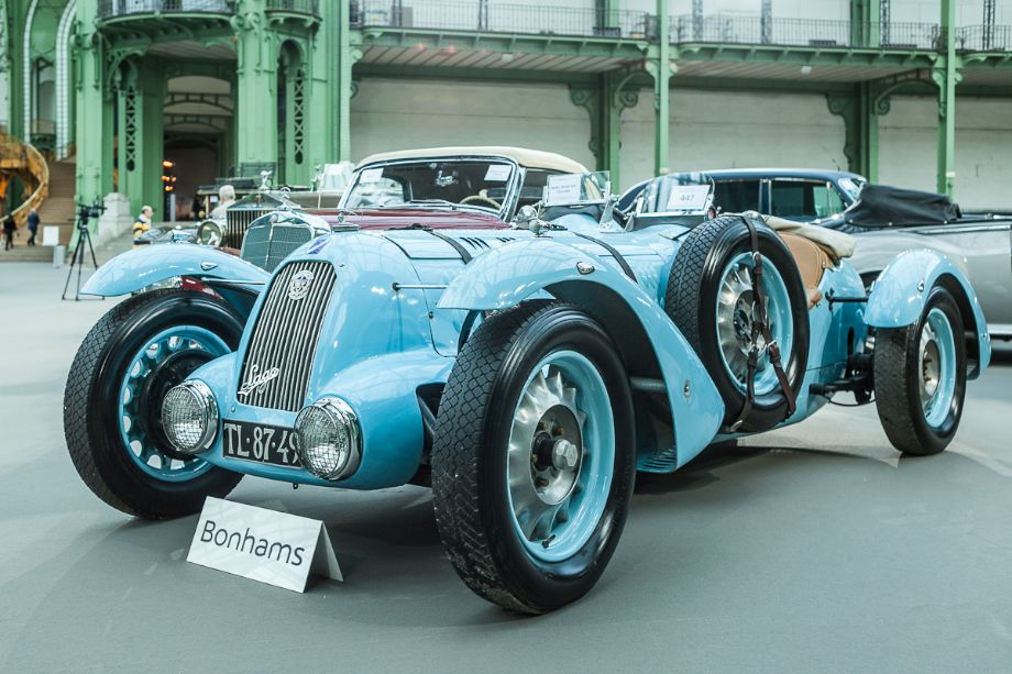 1936 Talbot-Lago T120 3 litres 'TT Replica' Sports - Bonhams