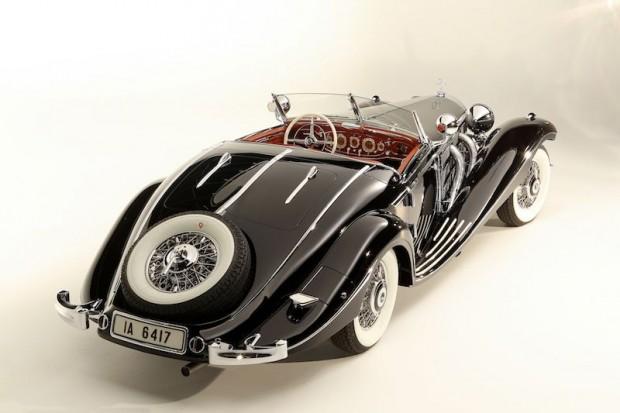 1936 Mercedes-Benz 540 K Special Roadster, Von Krieger Special Roadster