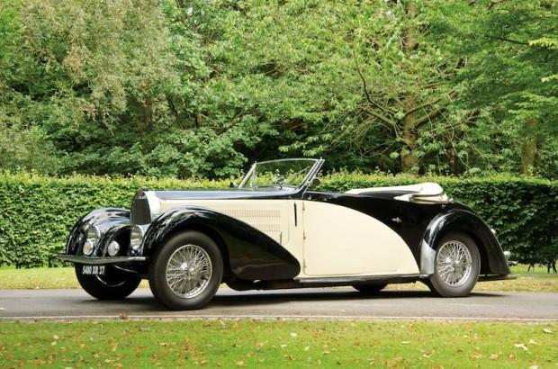 1937 Bugatti Type 57C Stelvio Cabriolet Gangloff