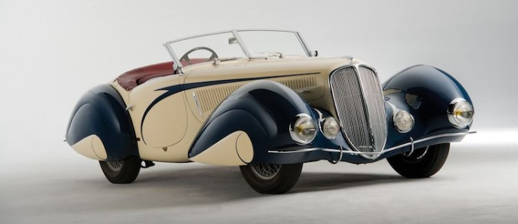 1937 Delahaye 135 Competition Court Roadster Front