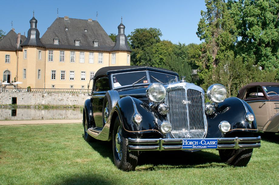 1937 Horch 853 Sport Cabriolet coachwork by Voll and Ruhrbeck