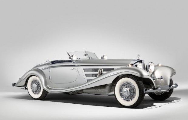 1937 Mercedes-Benz 540 K Spezial Roadster, Sam and Emily Mann