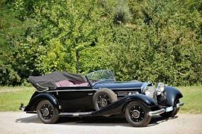 1937 Mercedes-Benz 540K Cabriolet C Sold for €354,000 at Reims