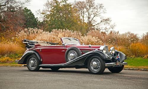 1937 Mercedes-Benz 540K Cabriolet C
