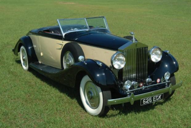 <strong>1937 Rolls-Royce Phantom III Henley Roadster – Estimate $750,000 - $900,000.</strong> Only Phantom III Henley Roadster ever built.