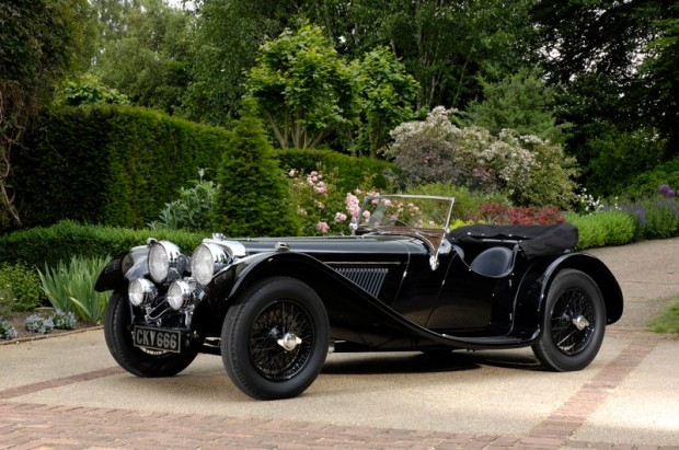 1937 SS Jaguar 100 3 1/2 Liter Roadster