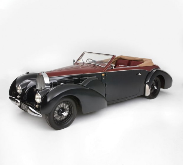<strong>Lot 276 - 1938 Bugatti Type 57C Stelvio - Estimate $650,000-$750,000.</strong> From the Schermerhorn Collection.