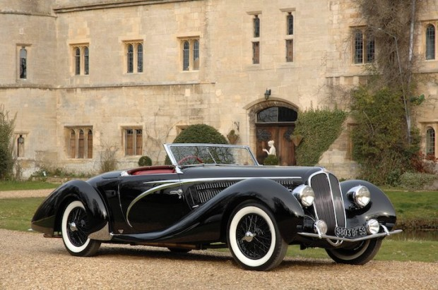 1938 Delahaye 135 MS Competition Cabriolet