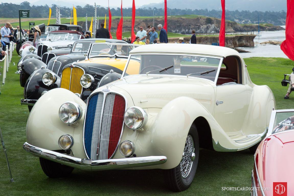 1938 Delahaye 135 MS Figoni Falaschi Coupe