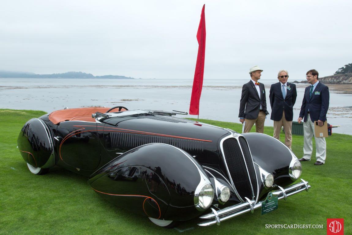 1938 Delahaye 135 MS Torpedo Roadster Figoni Falaschi