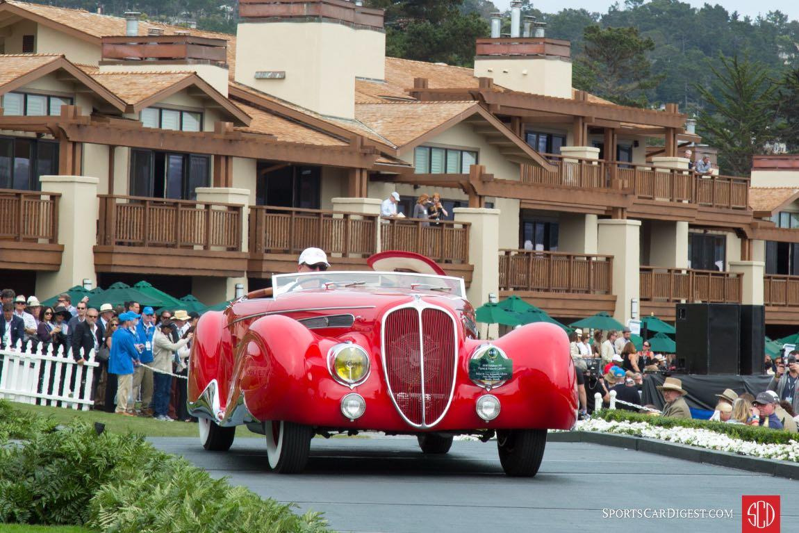 1938 Delahaye 165 Figoni Falaschi Cabriolet