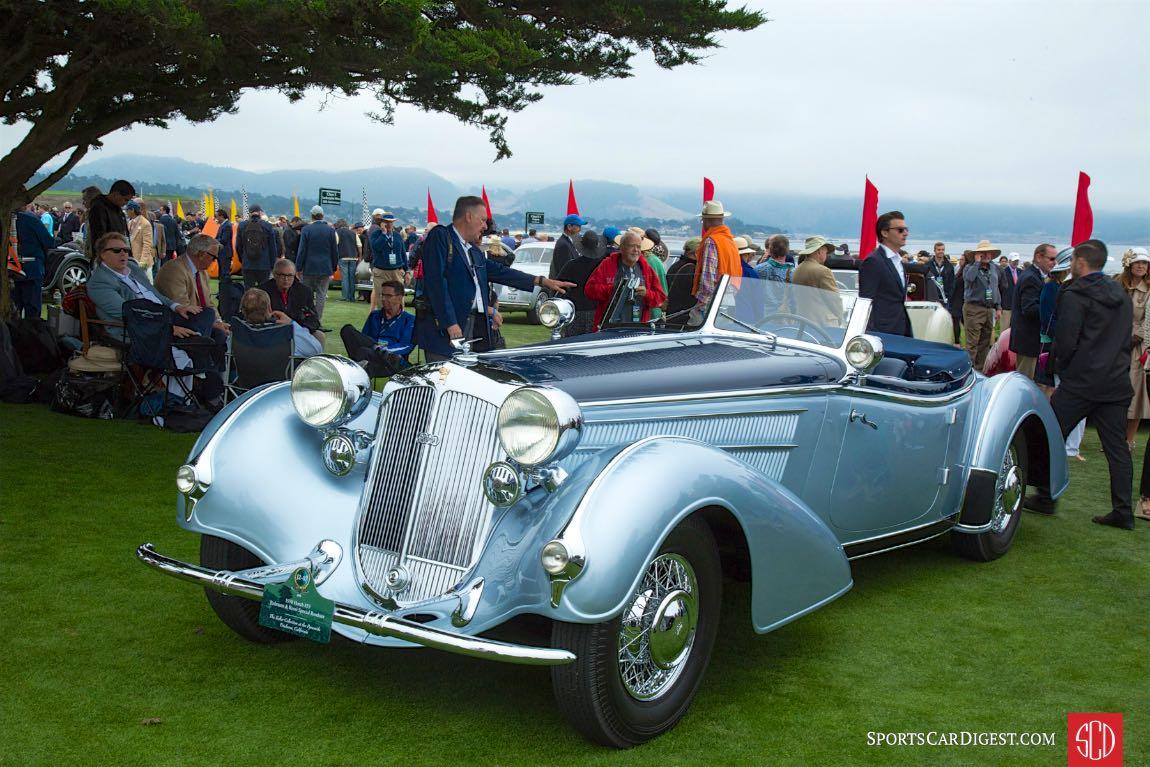 1938 Horch 853 Erdman Rossi Special Roadster
