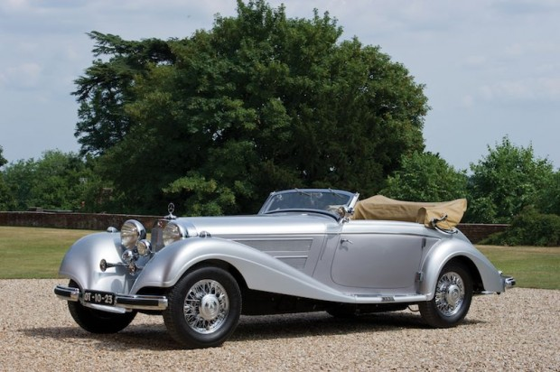 1938 Mercedes-Benz 540 K Special Cabriolet A
