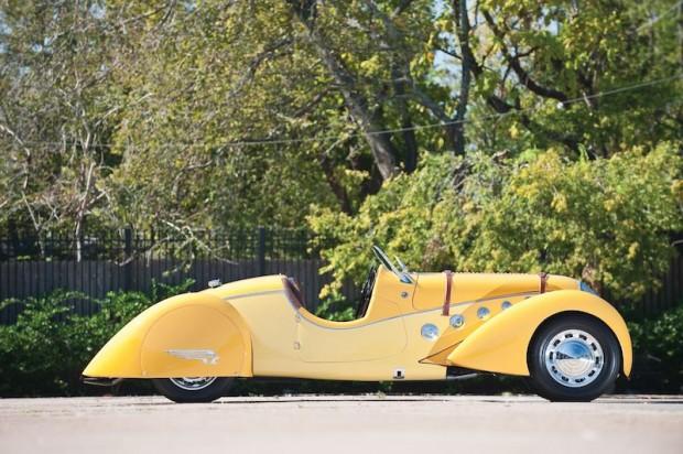 1938 Peugeot 402 Darl'mat Leger 'Special Sport' Roadster Side
