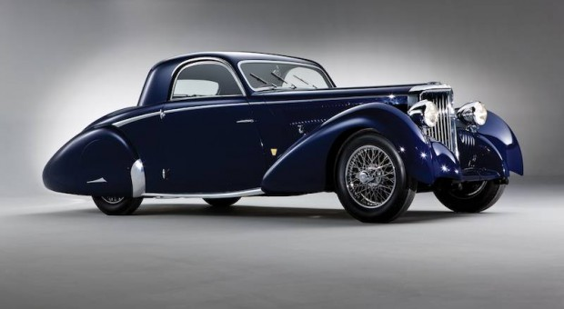 1938 SS Jaguar 100 3.5 Liter Coupe, Body by Graber
