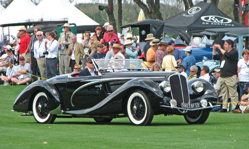 1938 Delahaye 135 MS Competition Cabriolet, Bob Owens, Philadelphia, PA