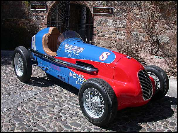 <strong>1938 Indy Blue Crown Special Racecar</strong> – Five Time Indy 500 Participant