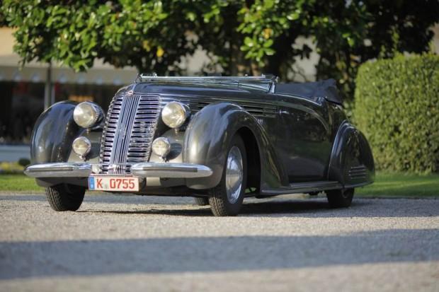 <strong>Class A - Prewar Open Cars</strong>, 1938 Lancia Astura Cabriolet Boneschi, Klaus Edel, Germany