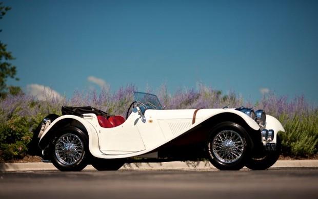 1938 SS Jaguar 100 3 1/2 Liter Roadster