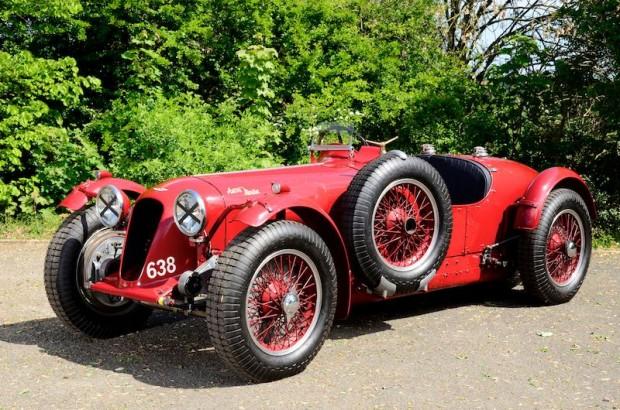 1939 Aston Martin 2-Litre Brooklands Speed Model