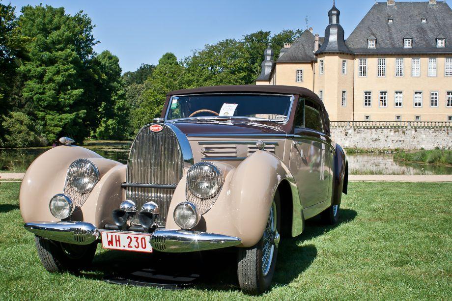 1939 Bugatti T57C Cabriolet coachwork by Letourner et Marchand