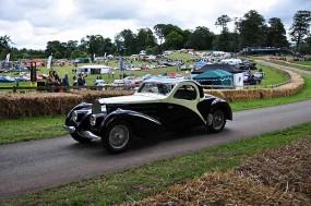 1939 Bugatti Type 57 driven by Ann Chadwick