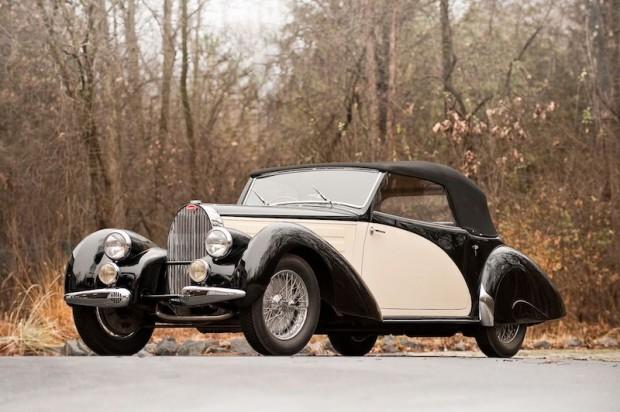 1939 Bugatti Type 57C Three-Position Drophead Coupe
