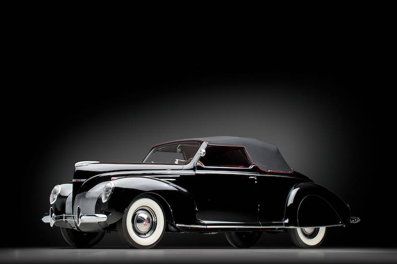 Rm auctions dingman collection 2012 auction preview for 1939 lincoln zephyr 3 window coupe