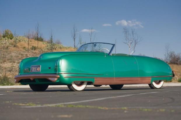 1941 Chrysler Thunderbolt Concept Car by LeBaron