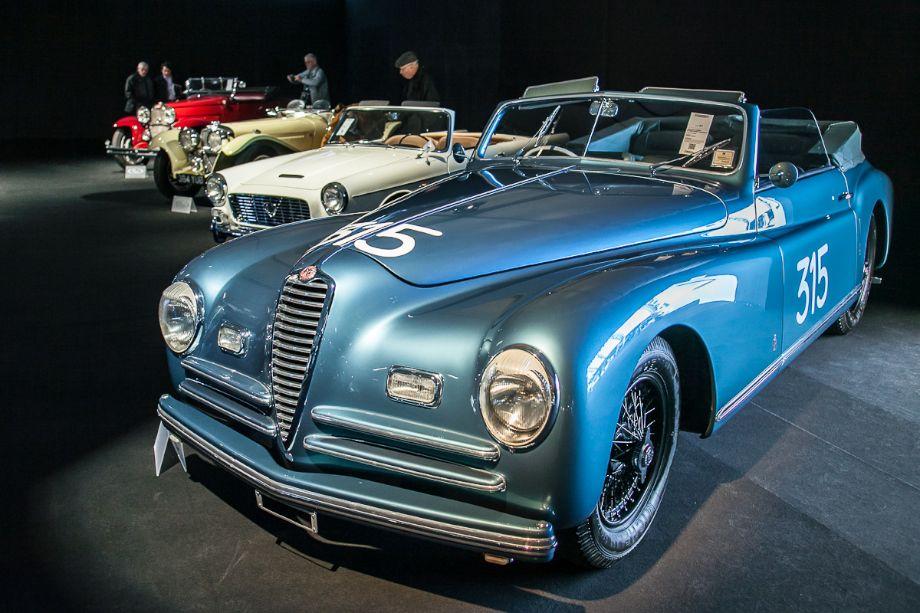 1947 Alfa Romeo 6C 2500 Sport Cabriolet by Pinin Farina - RM Auctions