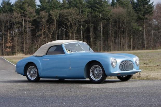 1947 Cisitalia 202 Cabriolet by Pinin Farina