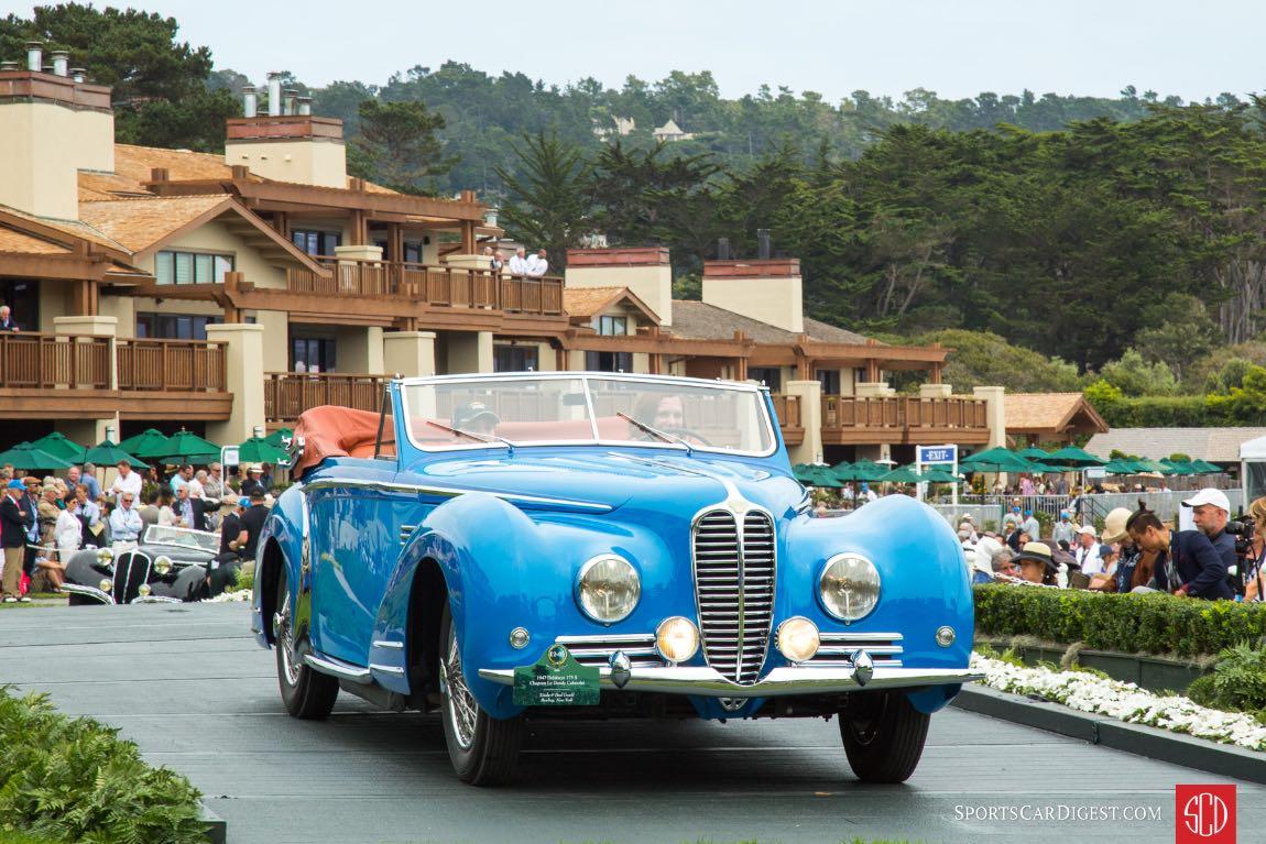 1947 Delahaye 175 S Chapron Le Dandy Cabriolet