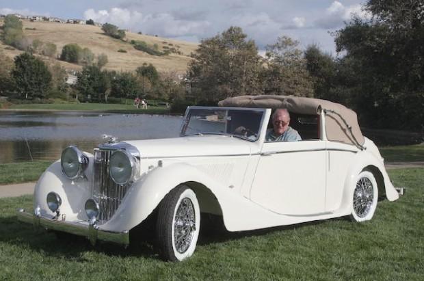 <strong>Best of Show - 1947 Jaguar MK IV - Howard Clarke, Springville, CA</strong>