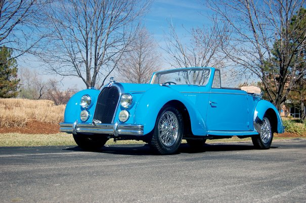 <strong>1947 Talbot-Lago T26 Record Cabriolet – Estimate $260,000 - $290,000. </strong>
