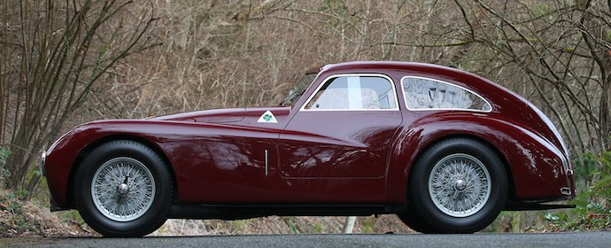1948 Alfa Romeo 6C 2500 Competition Side
