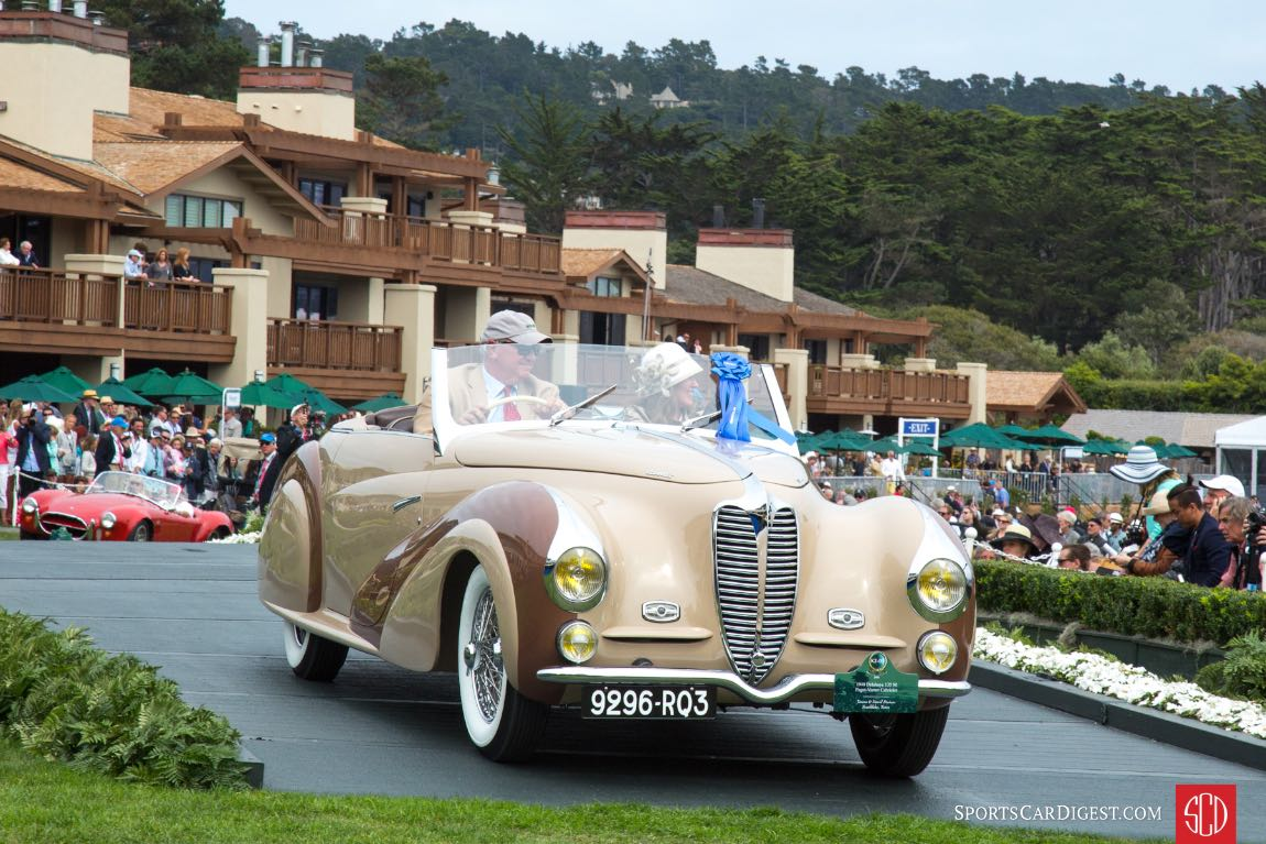 1948 Delahaye 135 M Faget-Varnet Cabriolet