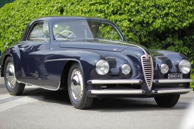 <strong>Class D - International Prestige, Closed</strong>, 1949 Alfa Romeo, 6C 2500 SS Coupe Touring, Giuseppe Spiller, Italy